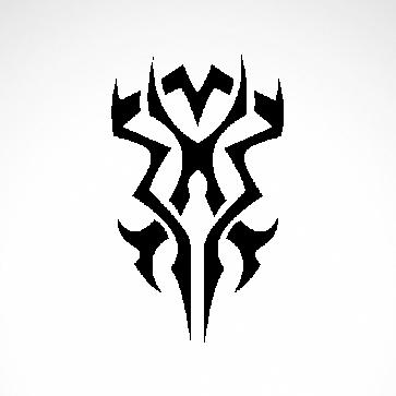 Tribal Tattoo Style 07556