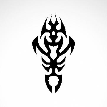 Tribal Tattoo Style 07558