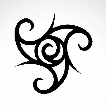 Tribal Tattoo Style 07561