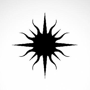 Tribal Sun 07562