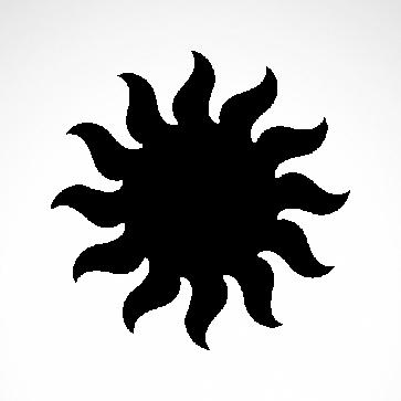 Tribal Sun 07566