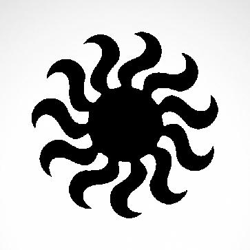 Tribal Sun 07568