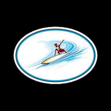 Surfer On Waves 09807