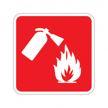 Fire Extinguisher Sign 11087