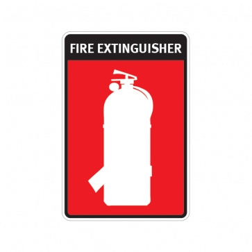 Fire Alarm Emergencies Signs Fire Extinguisher 11132