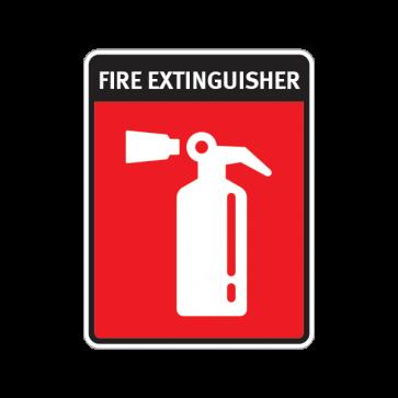 Fire Alarm Emergencies Signs Fire Extinguisher 11133
