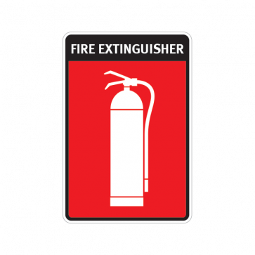 Fire Alarm Emergencies Signs Fire Extinguisher 11134