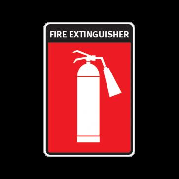Fire Alarm Emergencies Signs Fire Extinguisher 11135