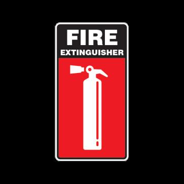 Fire Alarm Emergencies Signs Fire Extinguisher 11137
