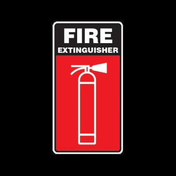 Fire Alarm Emergencies Signs Fire Extinguisher 11138