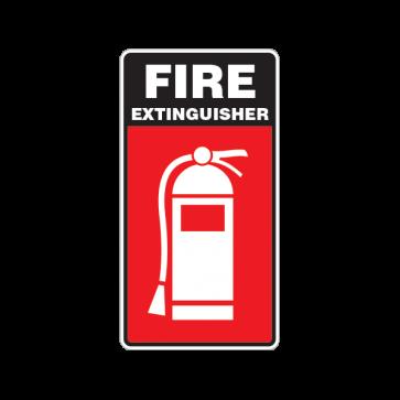 Fire Alarm Emergencies Signs Fire Extinguisher 11139