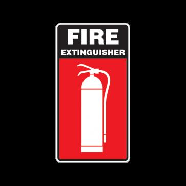 Fire Alarm Emergencies Signs Fire Extinguisher 11140