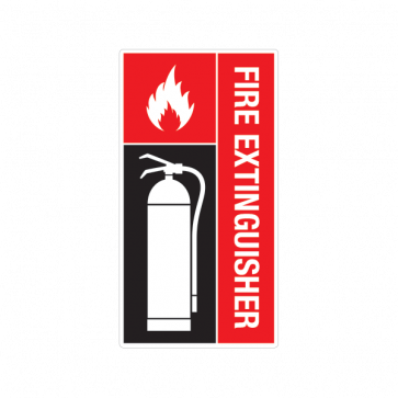 Fire Alarm Emergencies Signs Fire Extinguisher 11144
