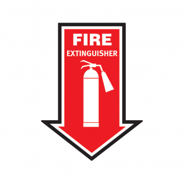 Fire Alarm Emergencies Signs Fire Extinguisher 11146