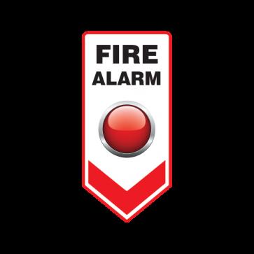 Fire Alarm Button Emergencies Signs 11184
