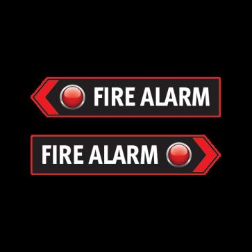 Fire Alarm Button Emergencies Signs 11186