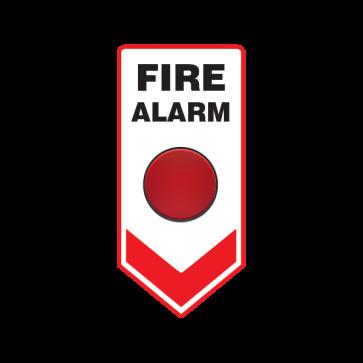 Fire Alarm Button Emergencies Signs 11192