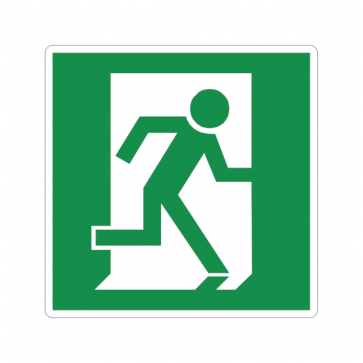 Emergency Exit Sign 11707