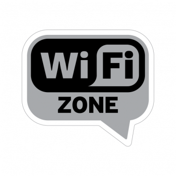 Wifi Zone. Gray Dark 12015