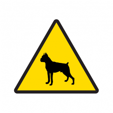 Beware Guard Dog 12143