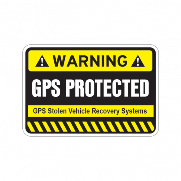 Gps Protected Prevention Sign 14055