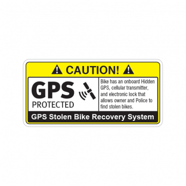 Gps Protected Prevention Sign Bike 14061