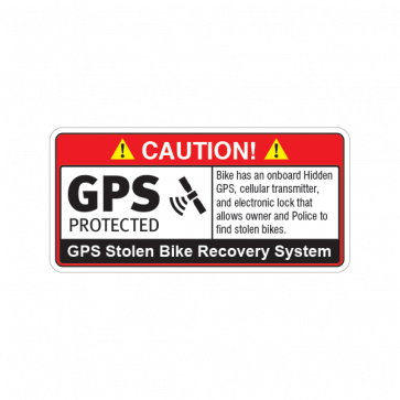 Gps Protected Prevention Sign Bike 14068