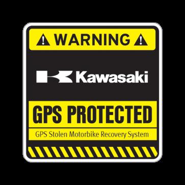 Gps Protected Prevention Sign Kawasaki 14074