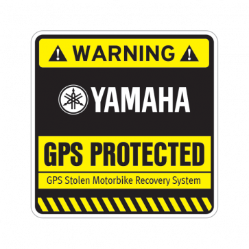 Gps Protected Prevention Sign Yamaha 14076