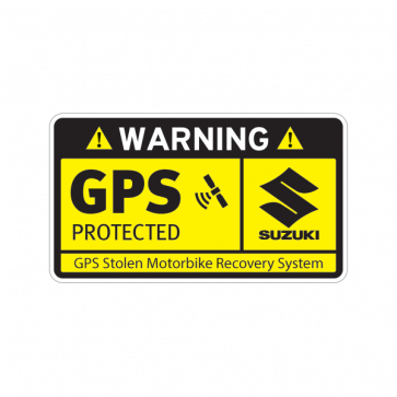Gps Protected Prevention Sign Suzuki 14078