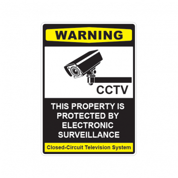 This Property Is Protected By Electronic Surveillance 14122