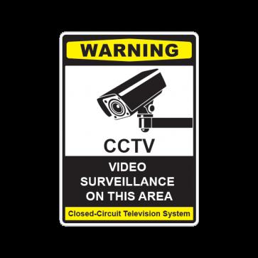Video Surveillance On This Area 14123
