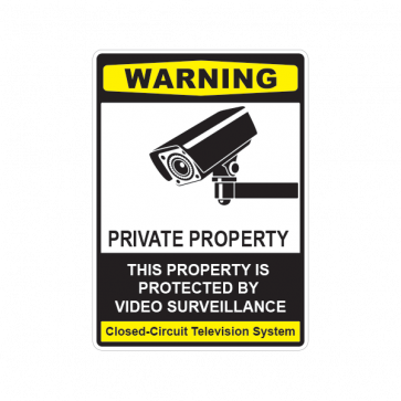 This Property Is Protected By Electronic Surveillance 14124