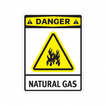 Danger Natural Gas 14233