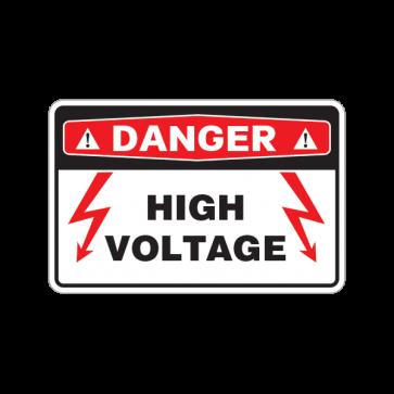 Danger High Voltage  18640