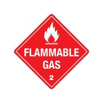 Hazard Classification Class 2 Gases: Flammable Gas 18835