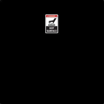 Danger Hot Surface 28262