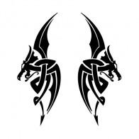 Pair Of Dragons Devil 00528