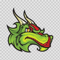 Dragon Mascot Head 00557