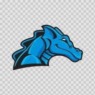 Blue Dragon Head 00578