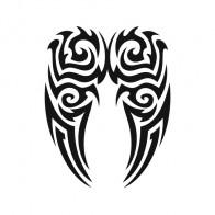 Butterfly Tribal 00604