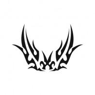 Butterfly Tribal 00609