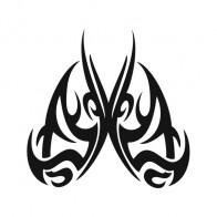 Butterfly Tribal 00611