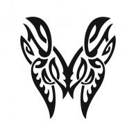 Butterfly Tribal 00614