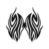 Butterfly Tribal 00620