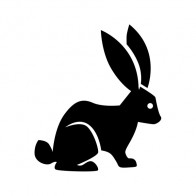 Rabbit Figure 00862