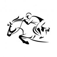 Horse Racing Jockey 00870