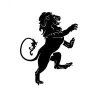 Heraldic Lion 00893