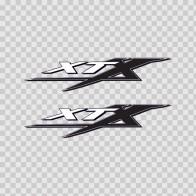 Yamaha Xtx Logo 01099