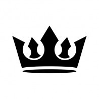 Royal Crown Chess Queen King Kingdom  01208